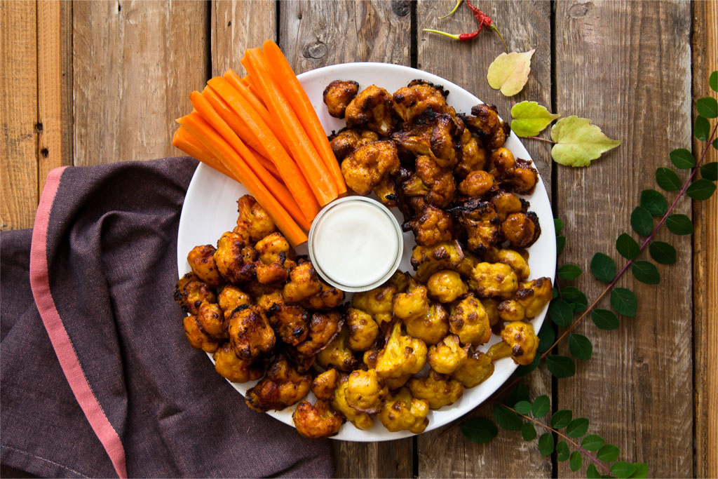 Buffalo wings vegan mom rezept