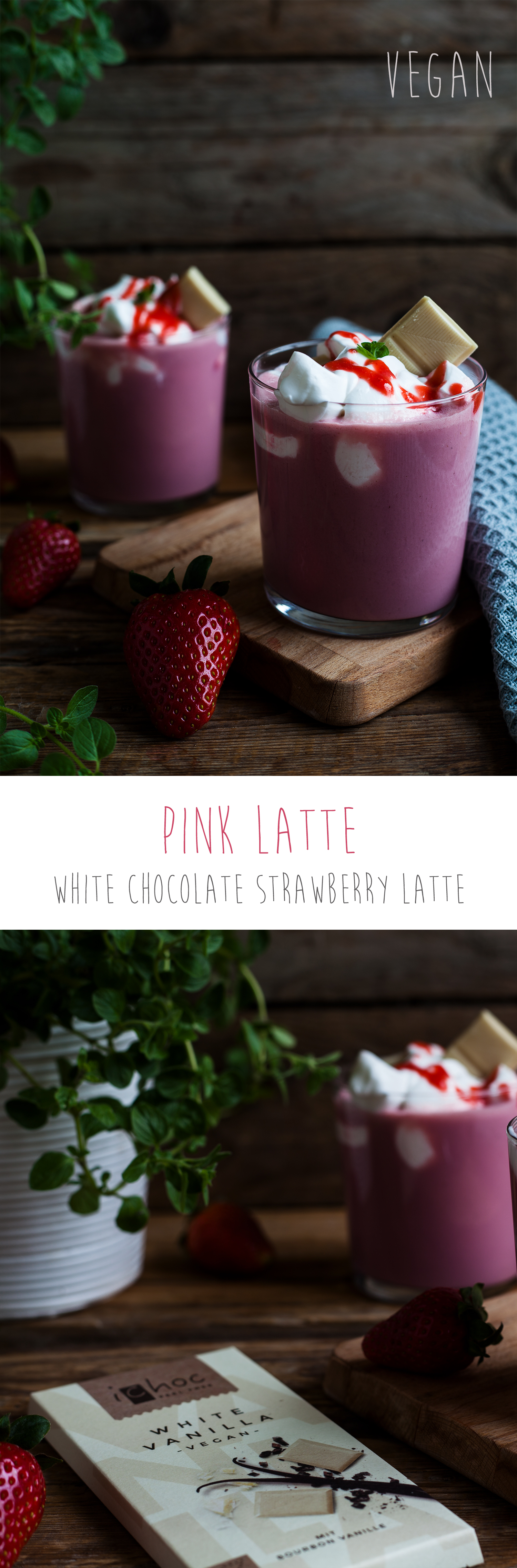 Pink Latte Vegan