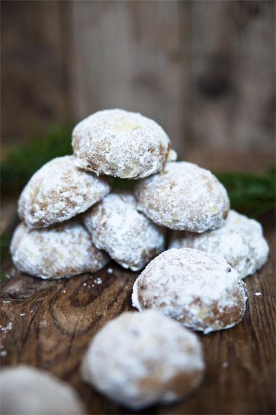 vegan weihnachten mexican wedding cookies
