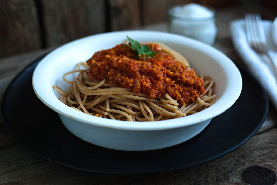 Vegane Bolognese rezept