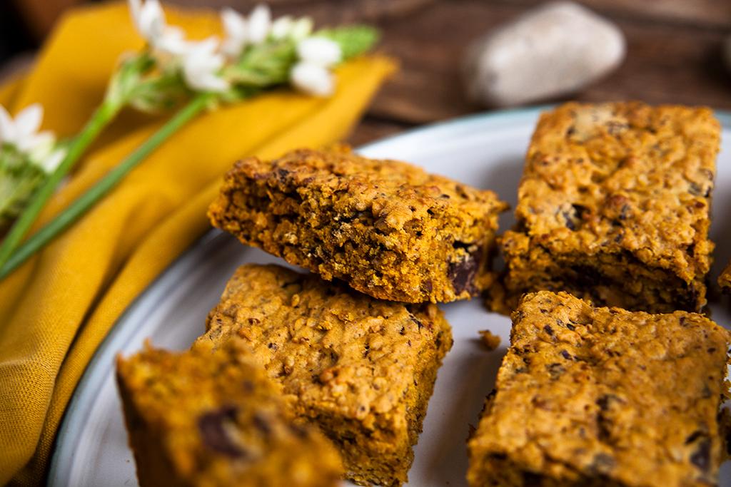 süße Kürbis Rezepte Schoko kuchen vegan