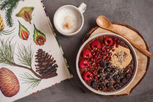 Abnehmen vegan rezept Frühstück
