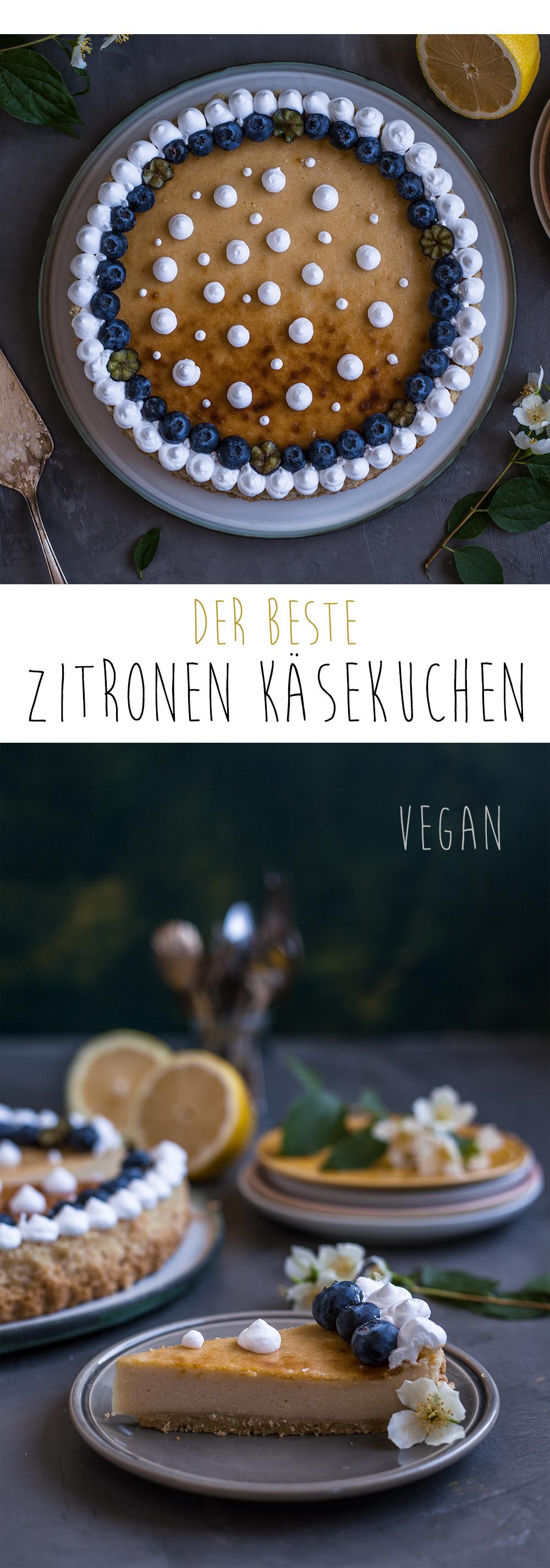Käsekuchenv vegan Rezept
