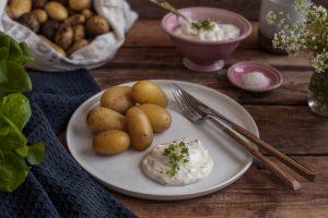 Pellkartoffeln mit Kräuterquark Rezept