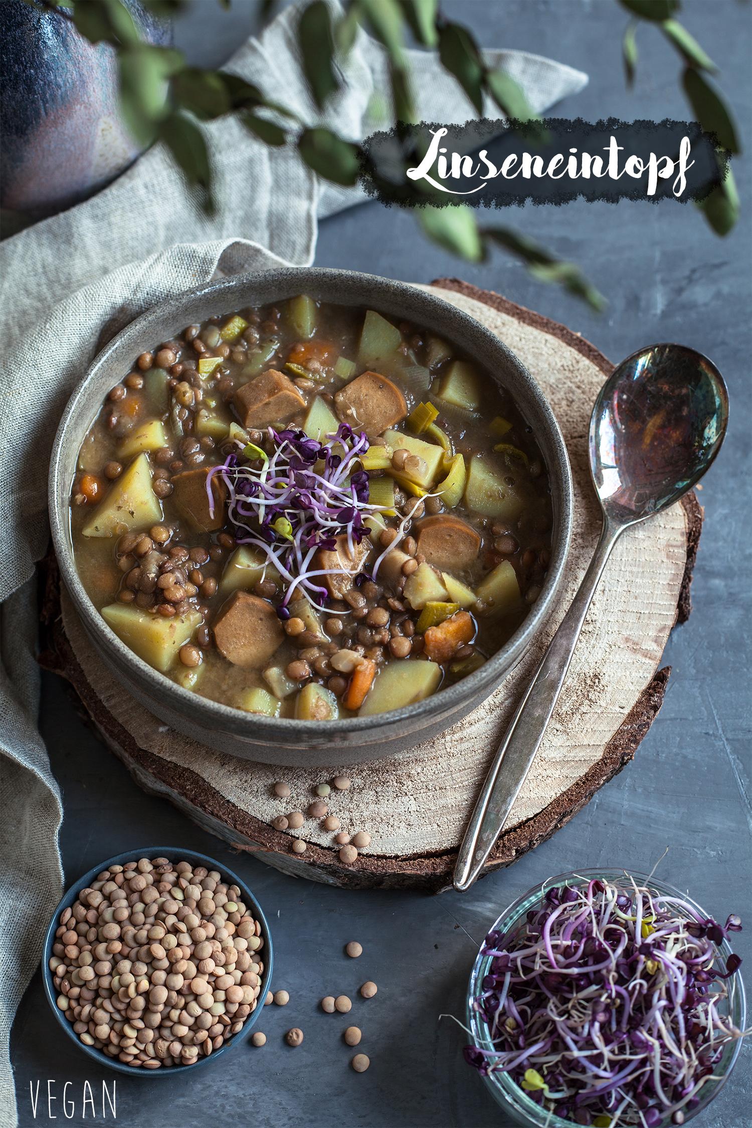 Kartoffel linsen suppe rezept Pinterest