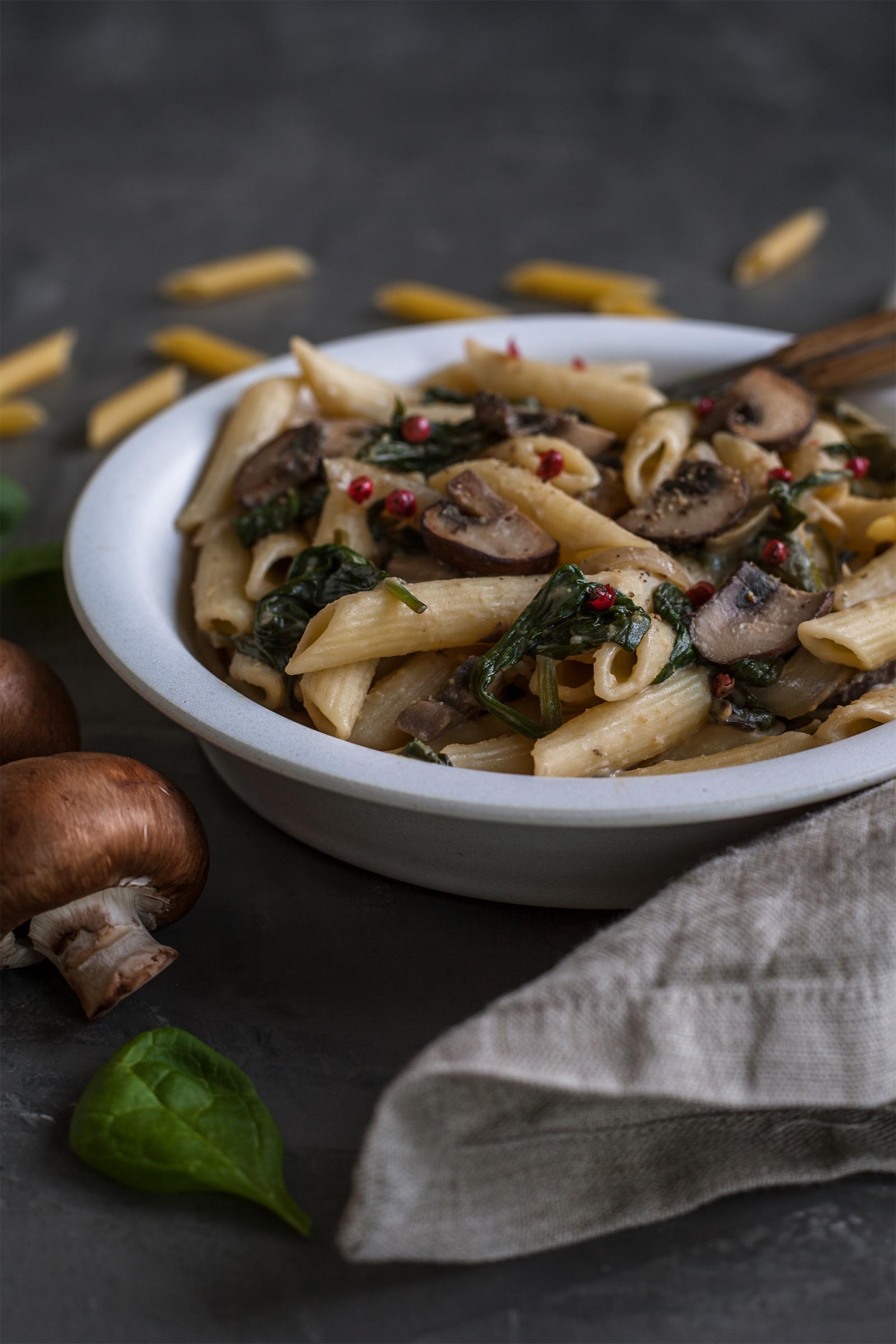 Hummus Pasta Rezept
