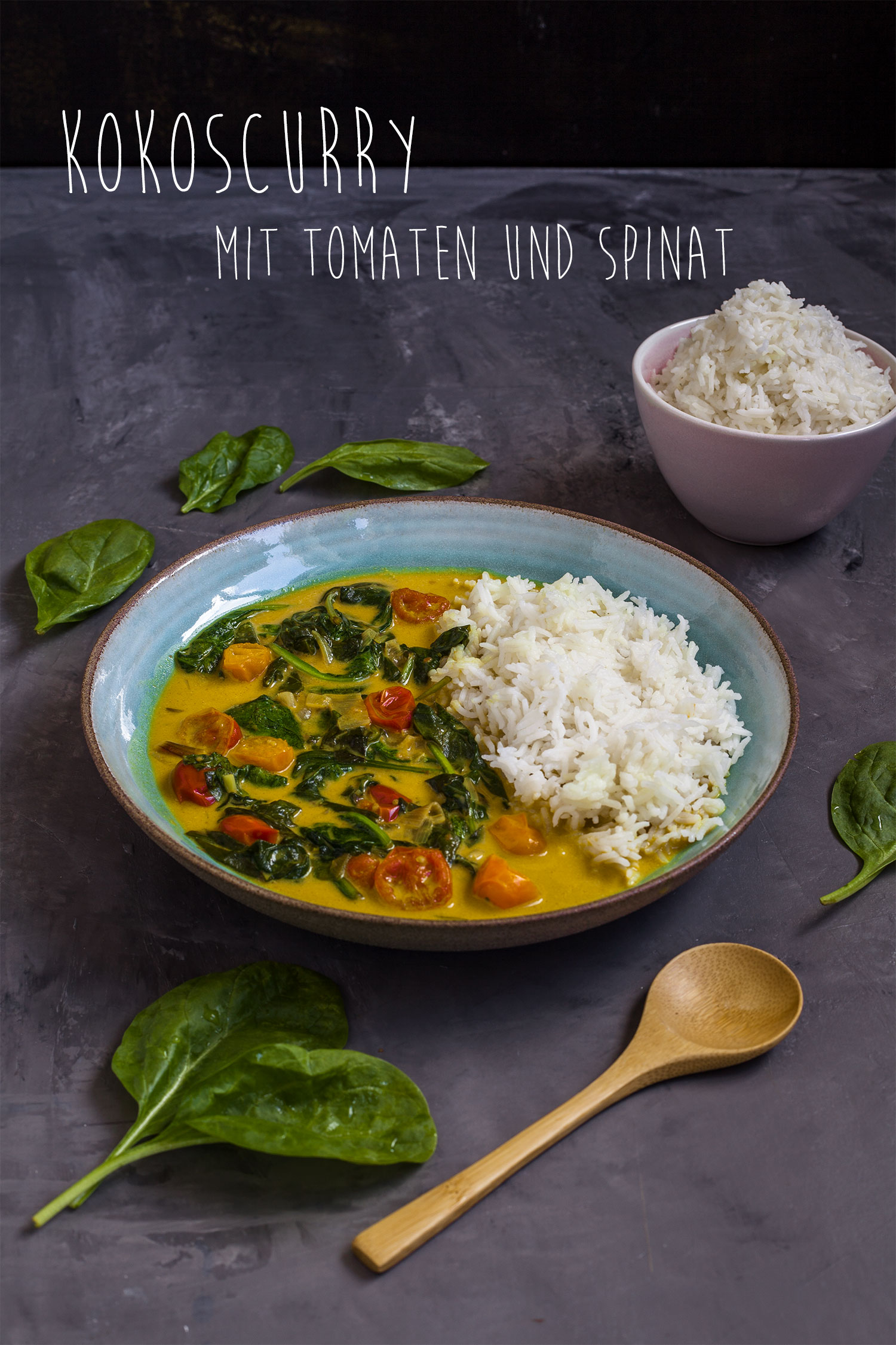 mildes Curry vegan Rezep