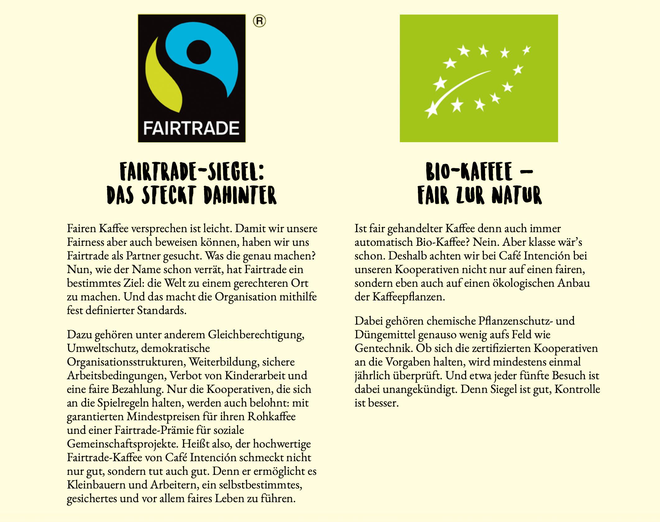 Fairtradesiegel