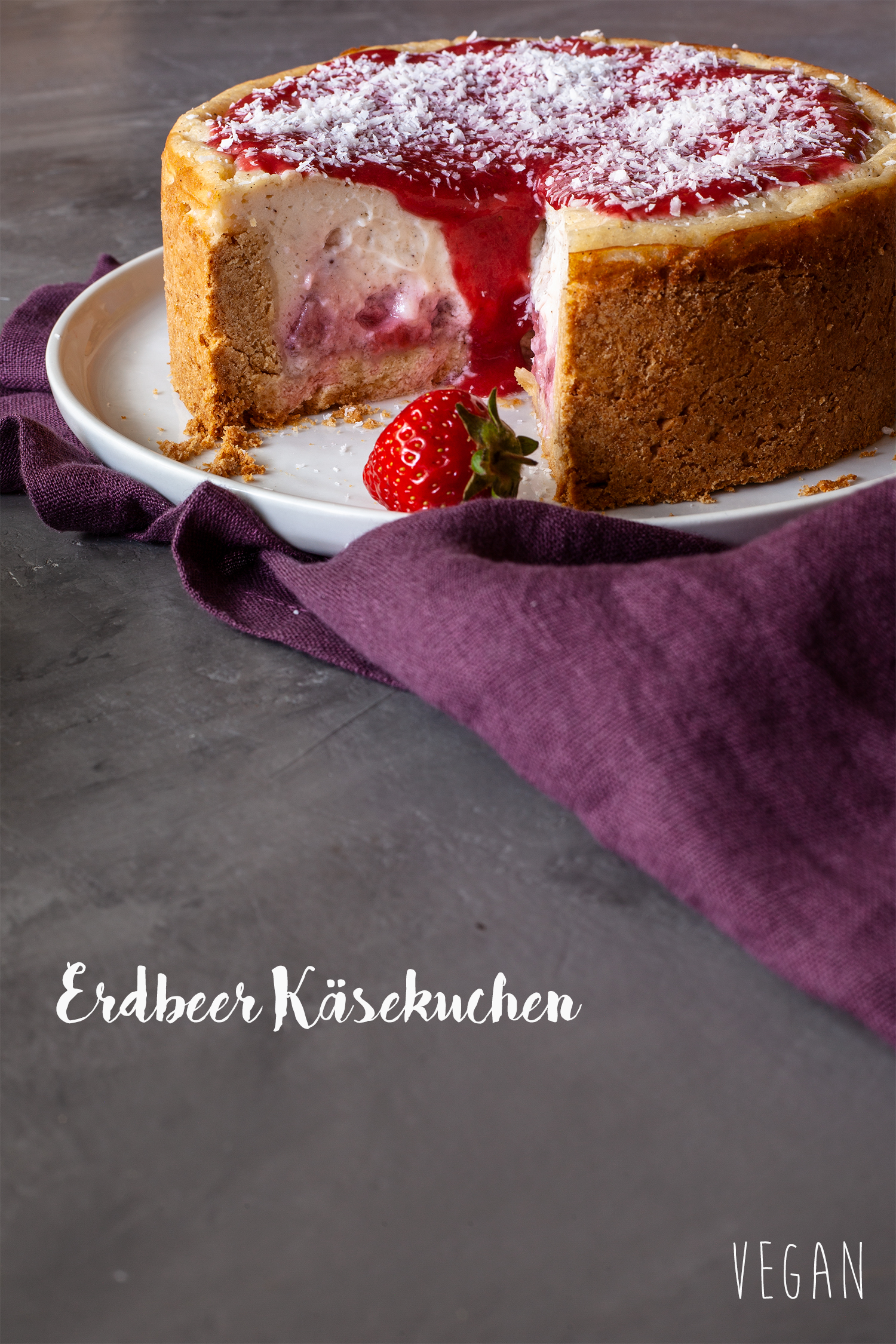 Strawberry Cheesecake vegan