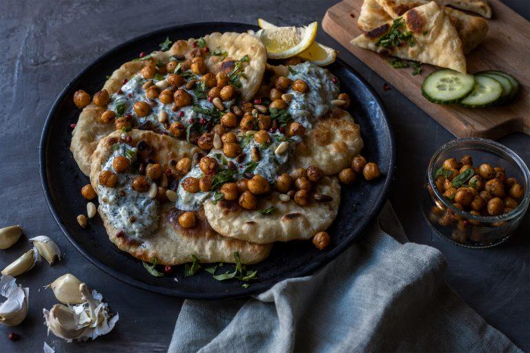 Indisches Fladenbrot Vegan Rezept