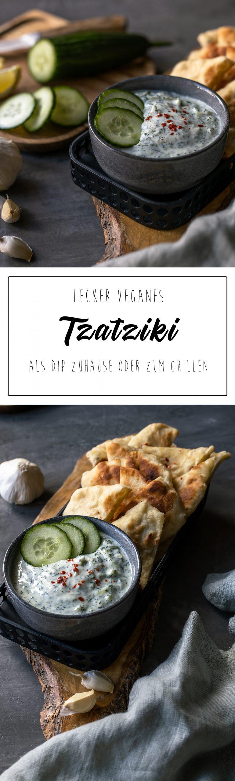 Tzatziki vegan Pinterest