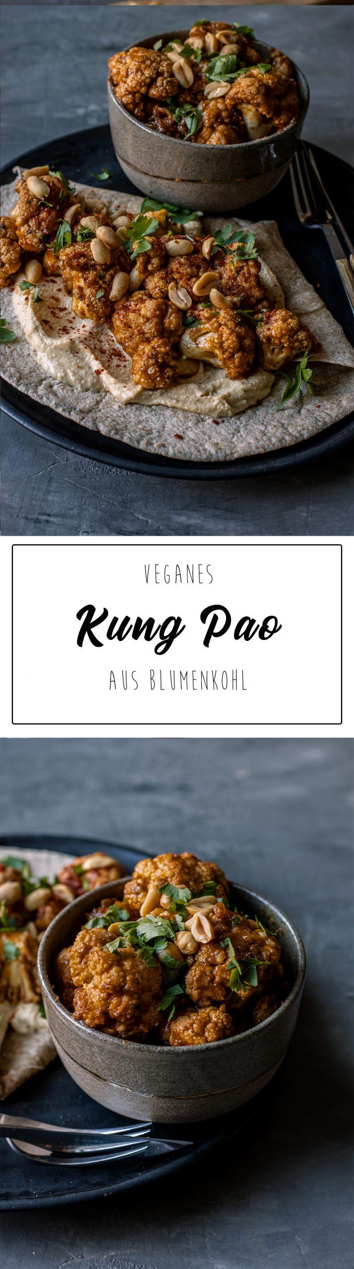 veganes Kung Pao Pinterest