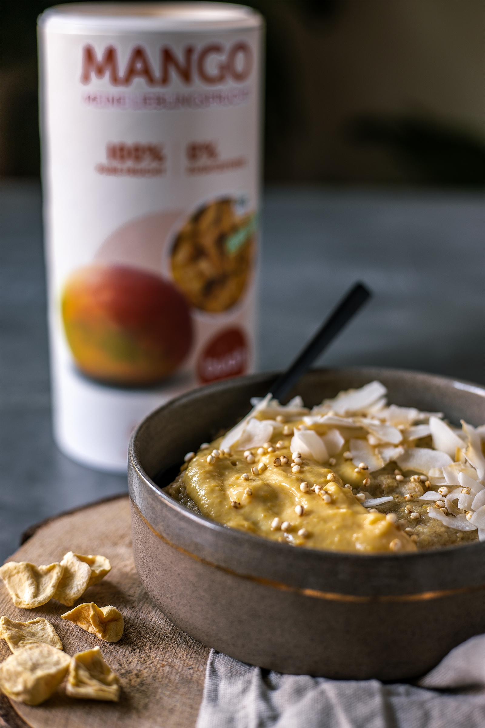 vegan Frühstücken Porridge