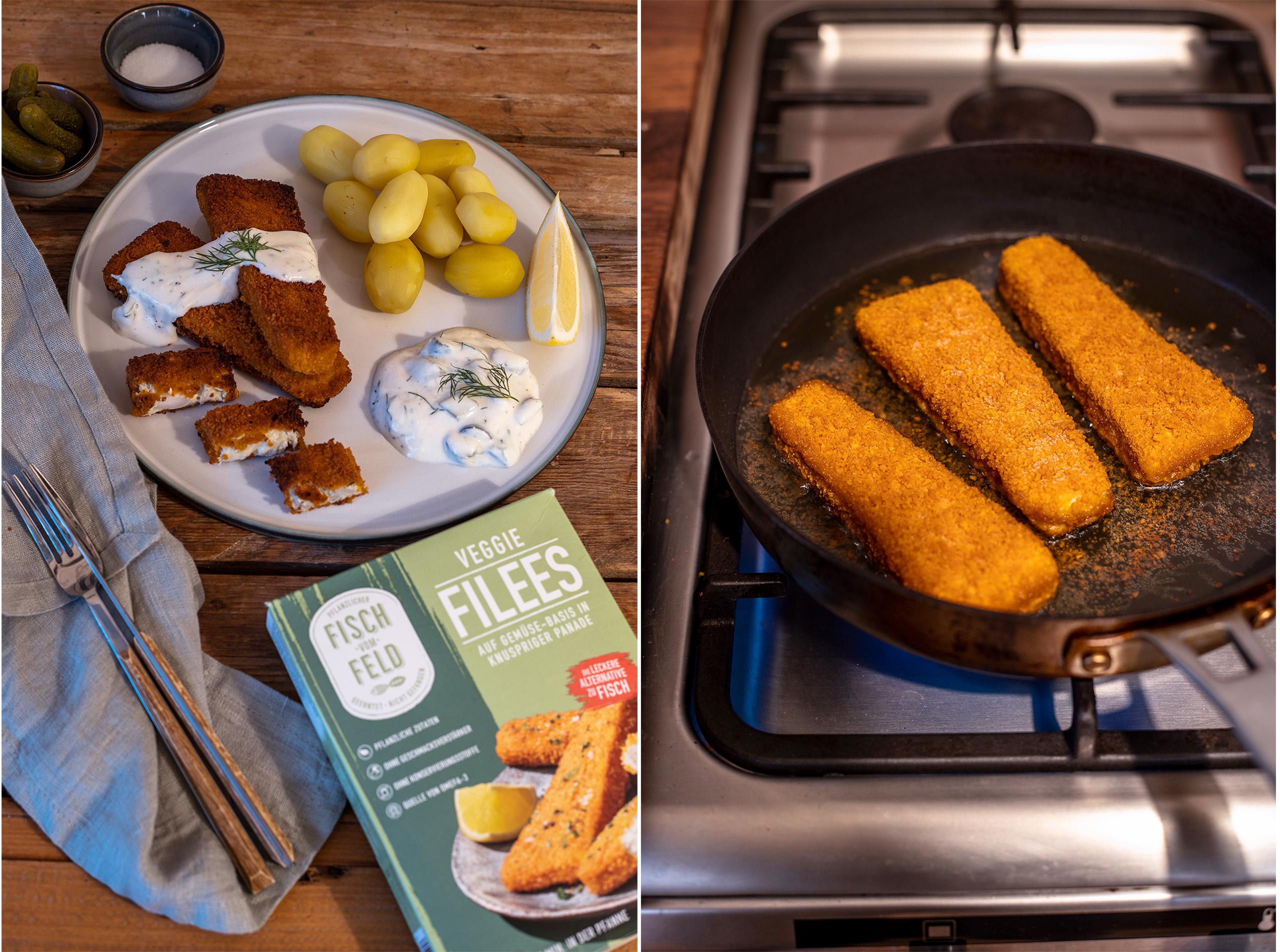 Fischfilet vegan rezept