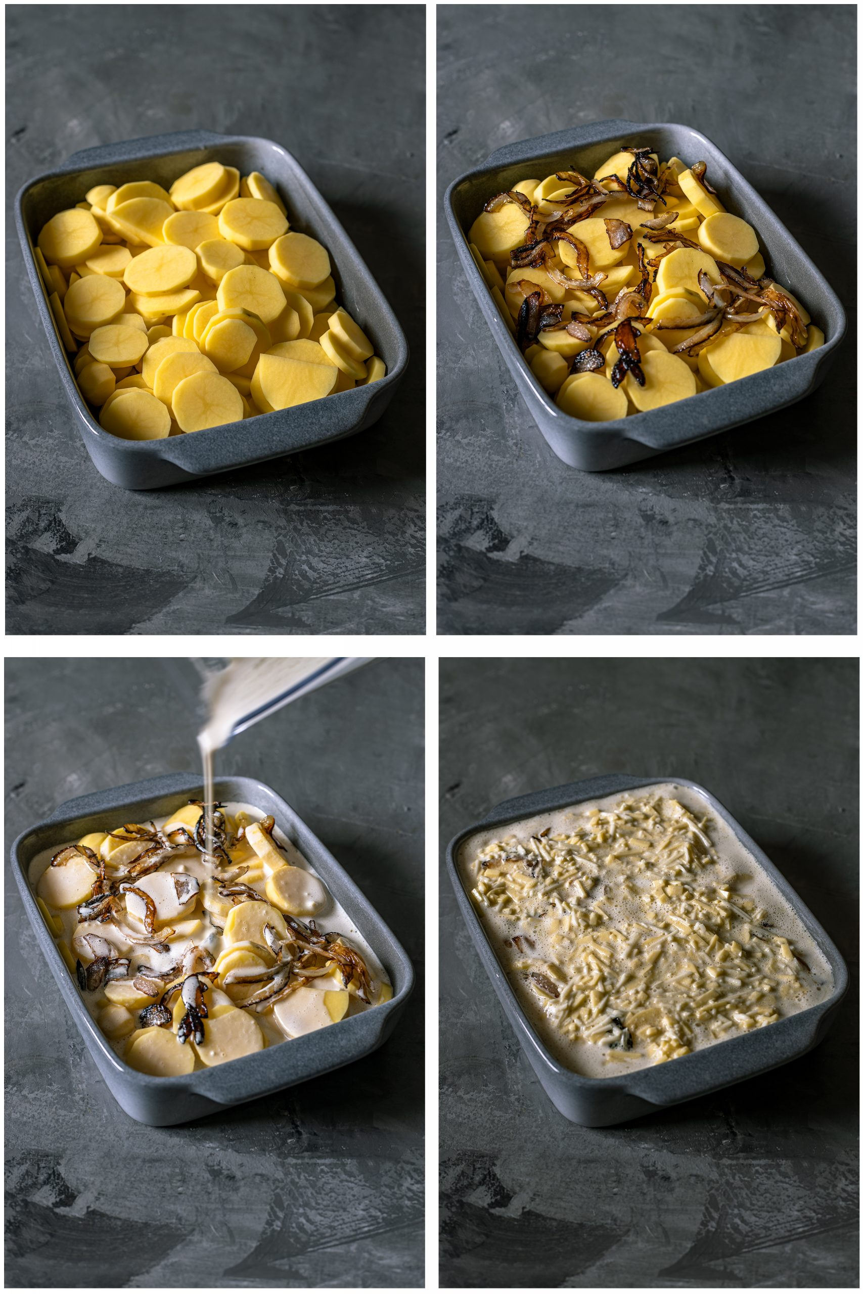 Kartoffelauflauf Rezept vegan