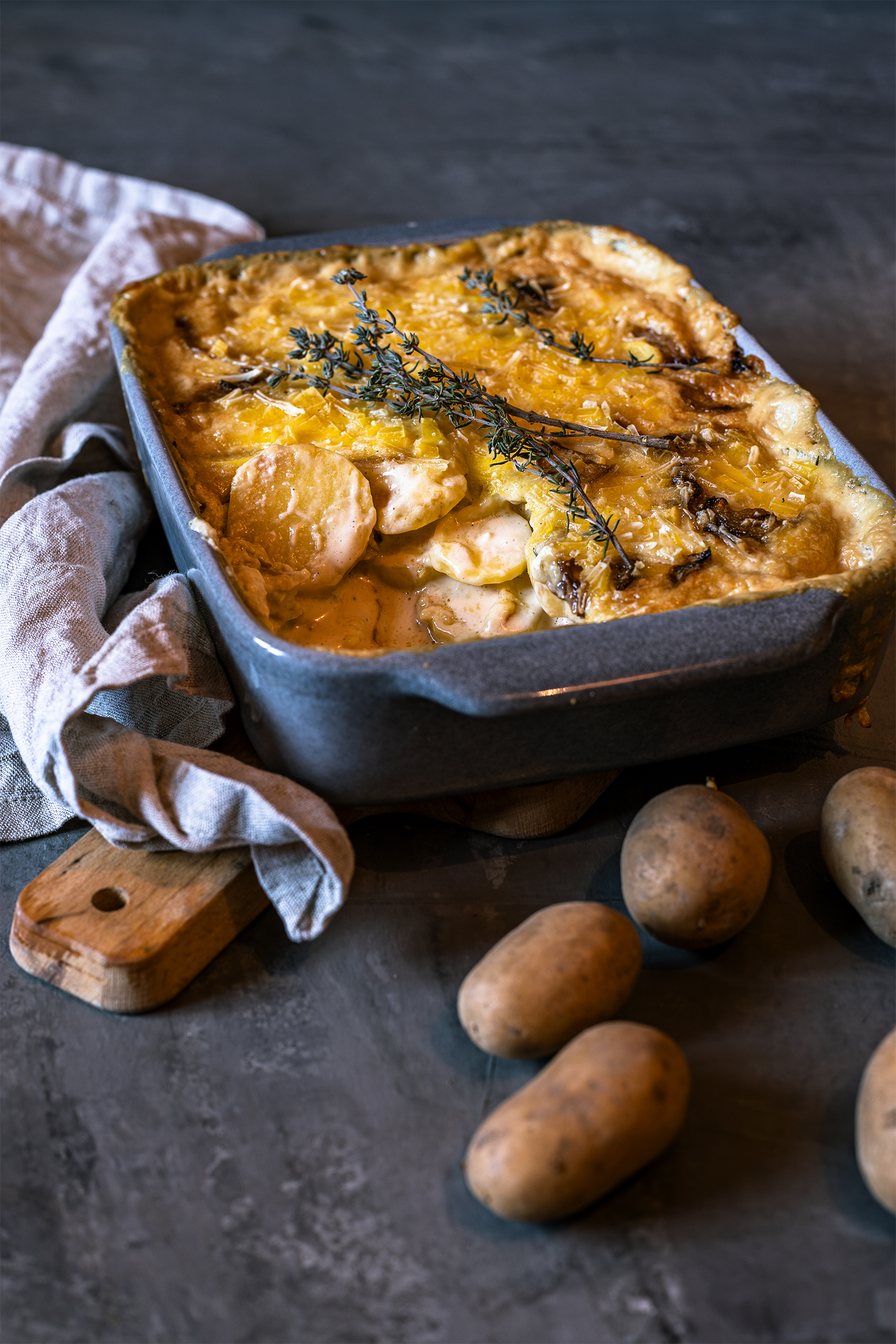 Veganer Kartoffelauflauf Rezept