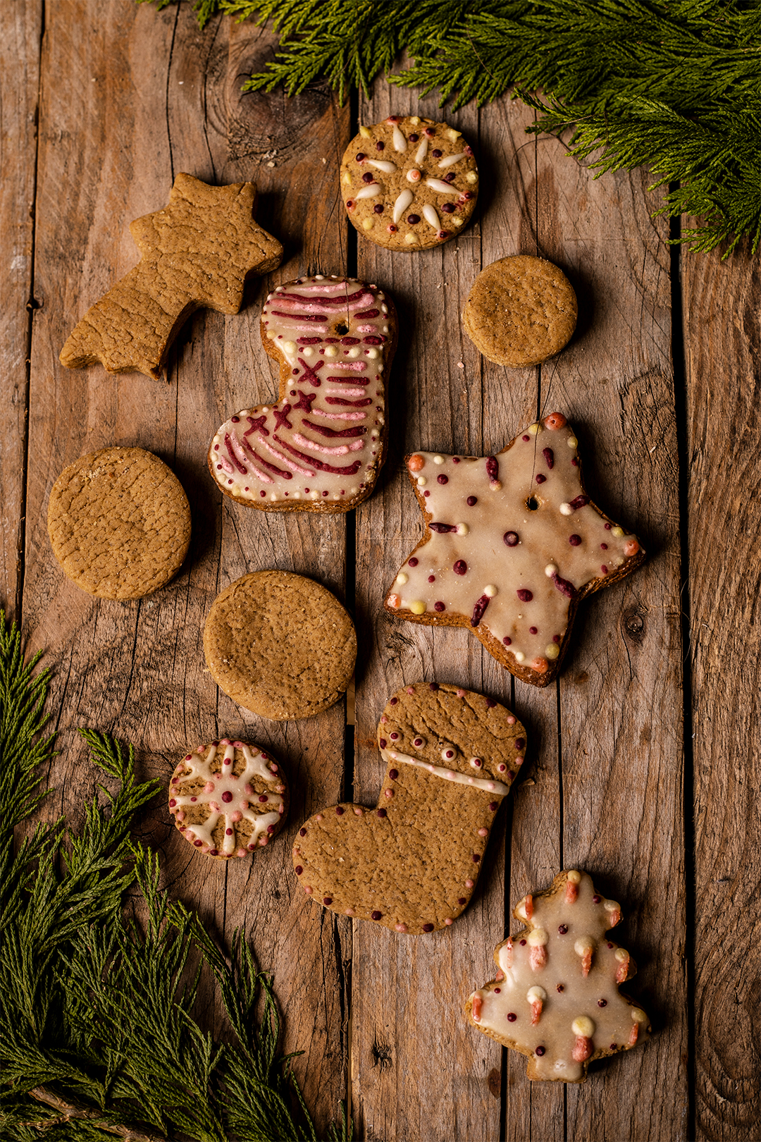 Lebkuchen kekse rezept vegan