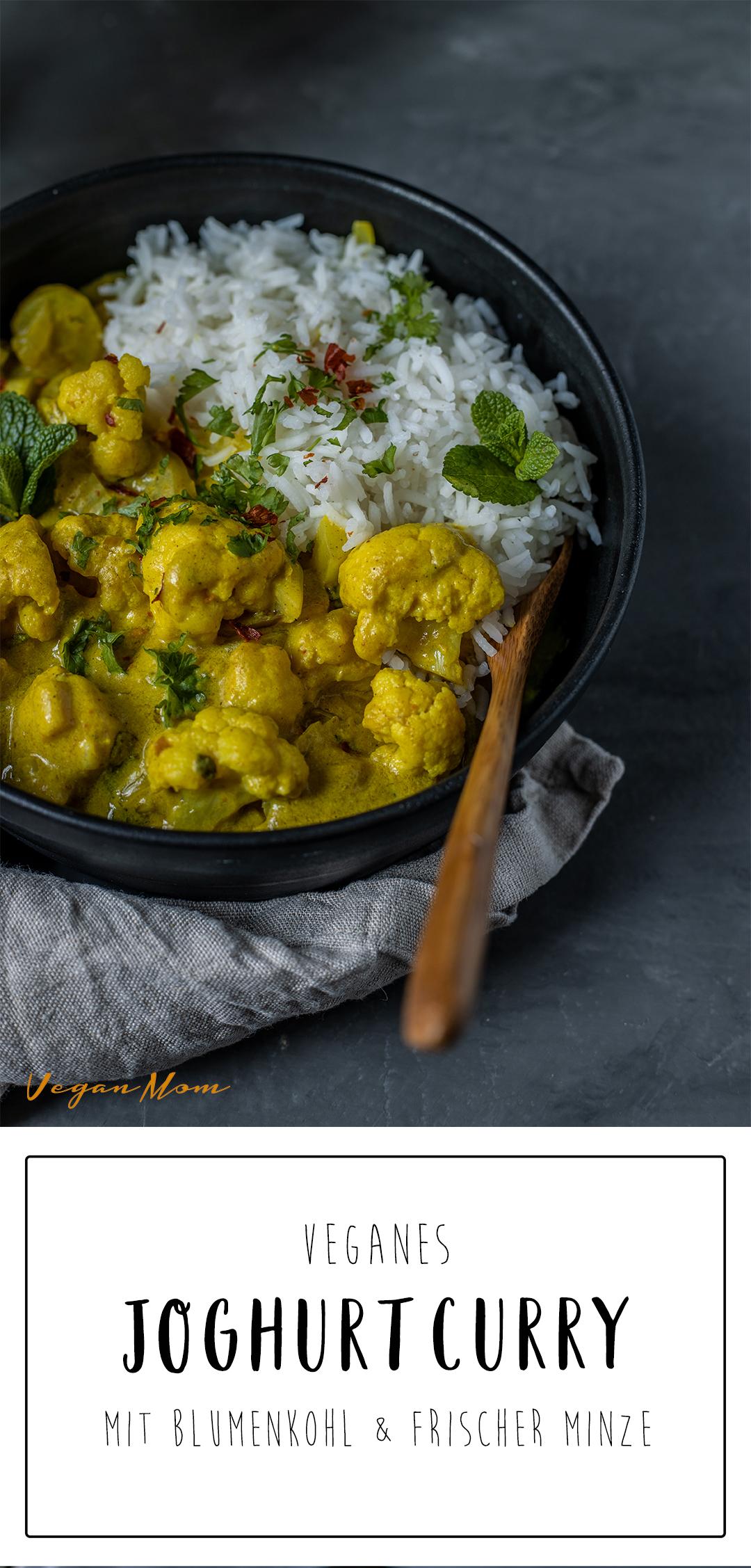 Joghurtcurry vegan Rezept anna elisie