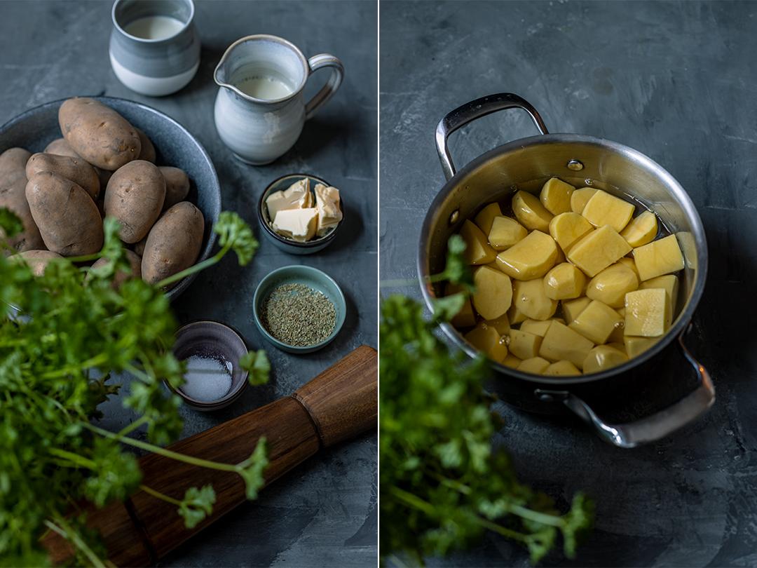 Kartoffelpüree vegan Rezept