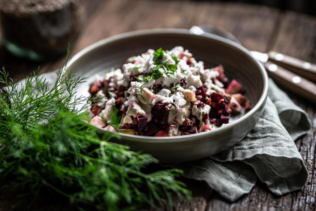 Rote bete salat vegan rezept