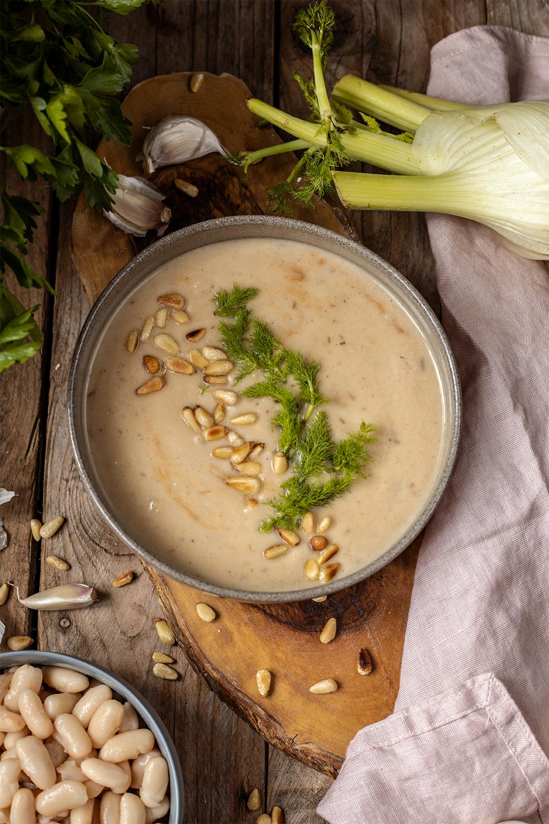 Blumenkohlsuppe rezept vegan