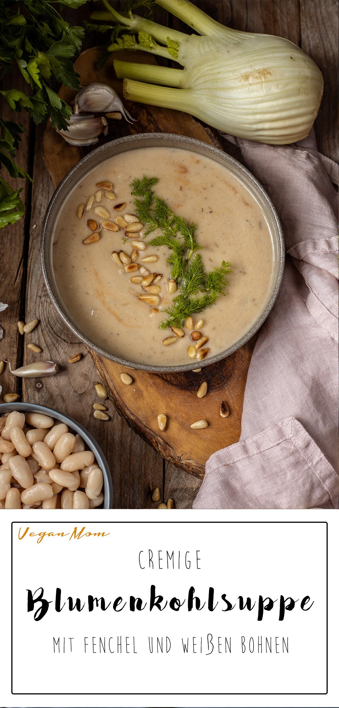 Vegane Rezepte mit Blumenkohl Blumenkohlsuppe