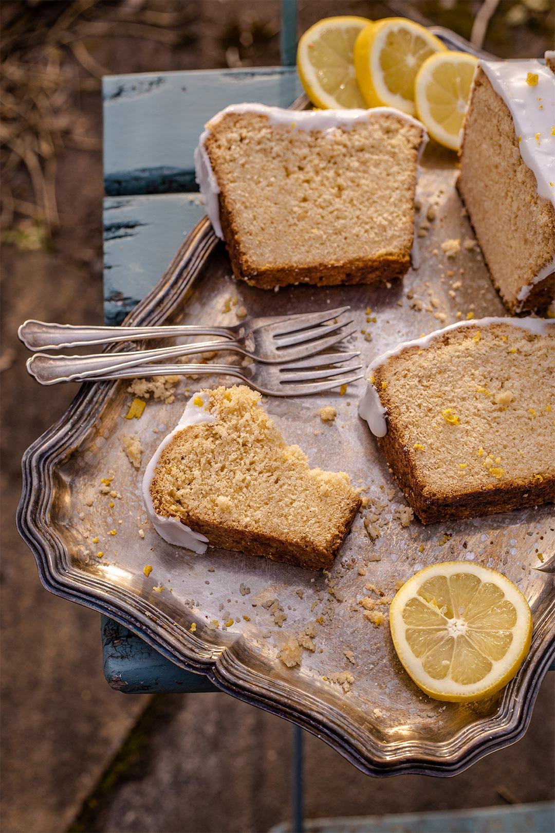 Zitronenkuchen vegan Rezept