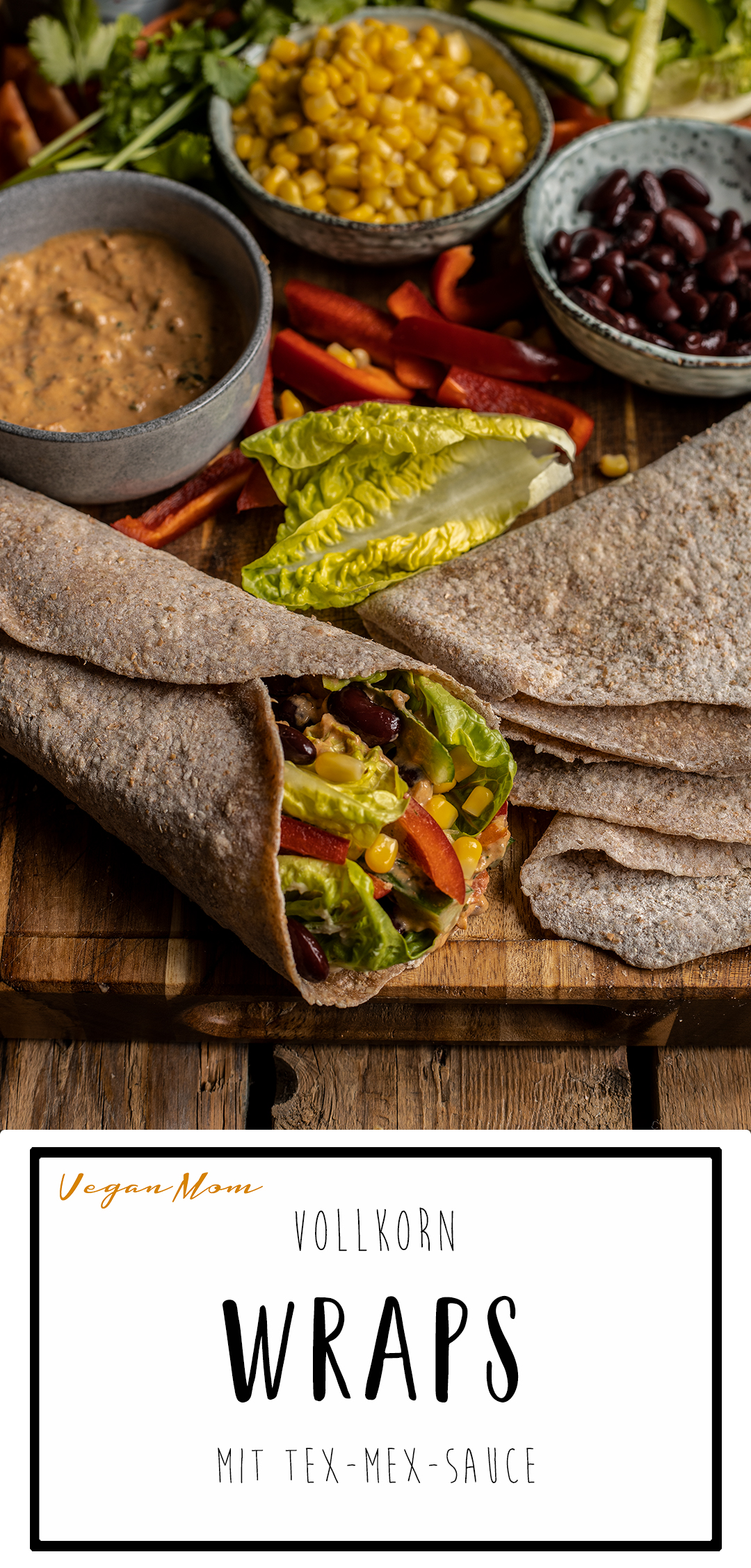 vollkorn wraps vegan