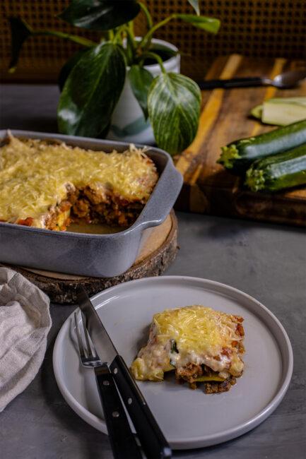 Low Carb vegan Lasagne
