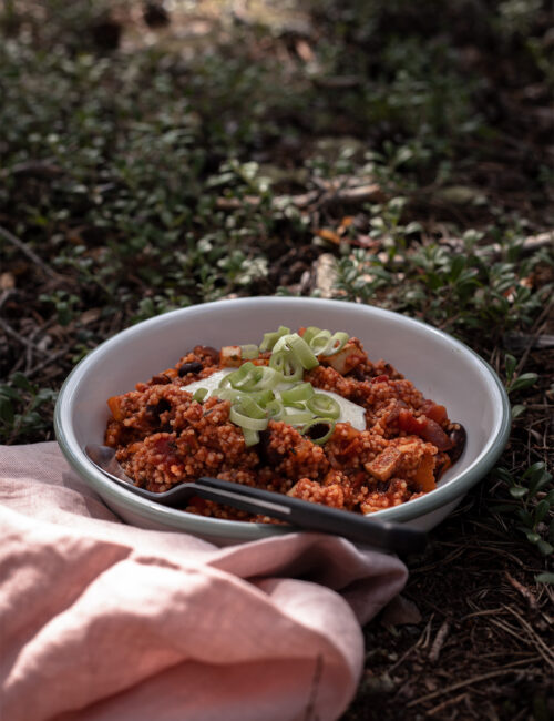 Hirsepfanne camping Rezepte
