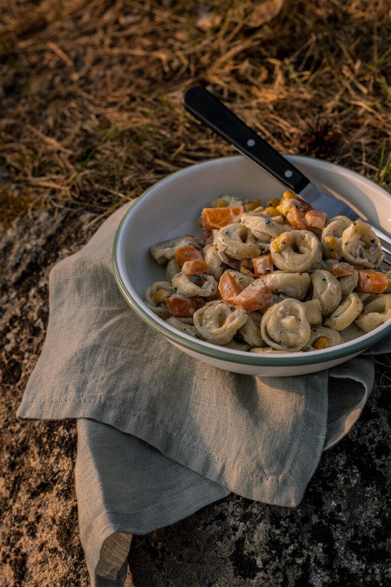 Tortellini-Pfanne-Camper-Rezepte