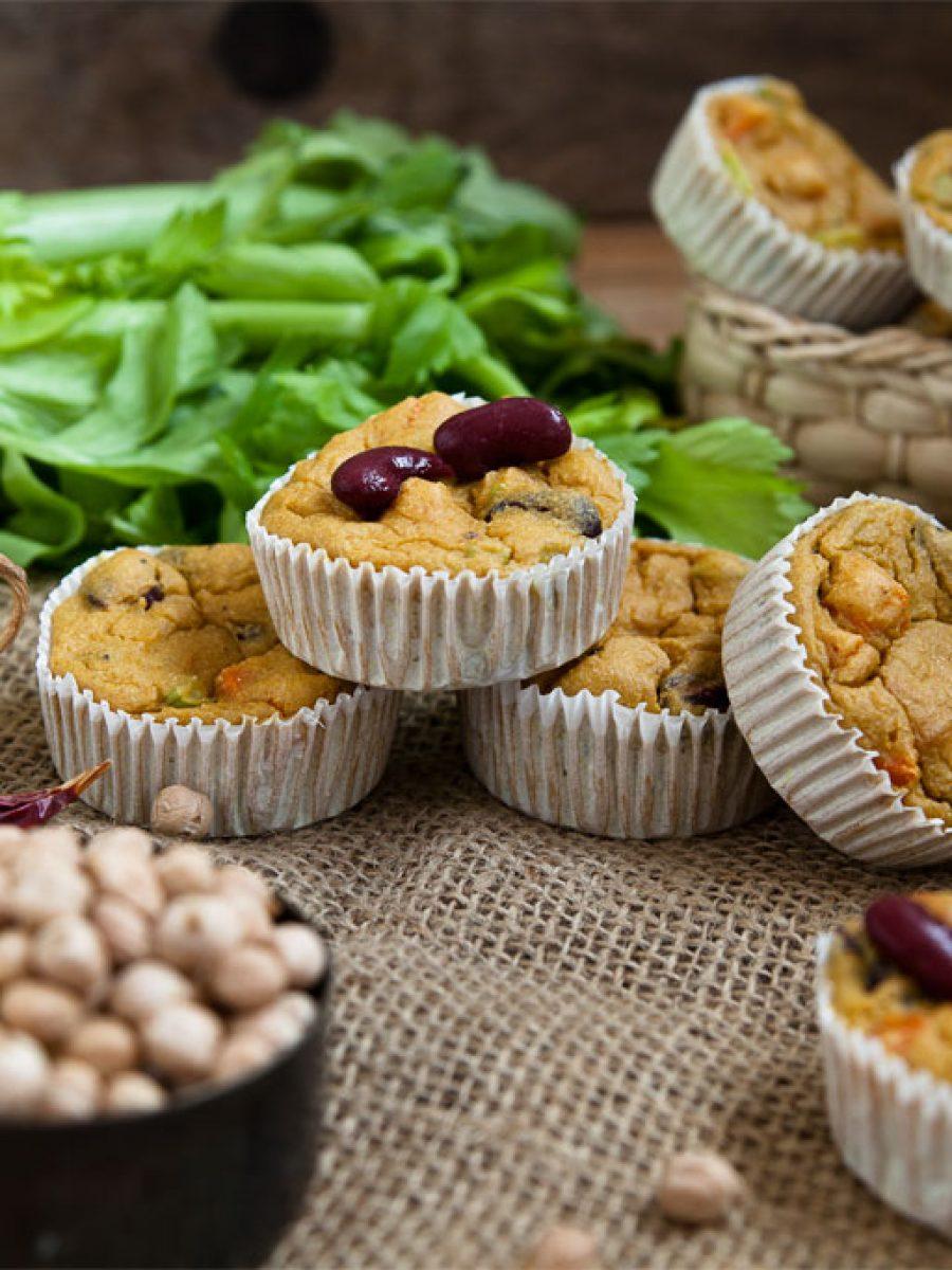 Eiweissmuffins vegan rezept