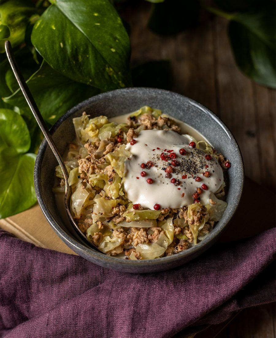 Gerichte mit Spitzkohl vegan
