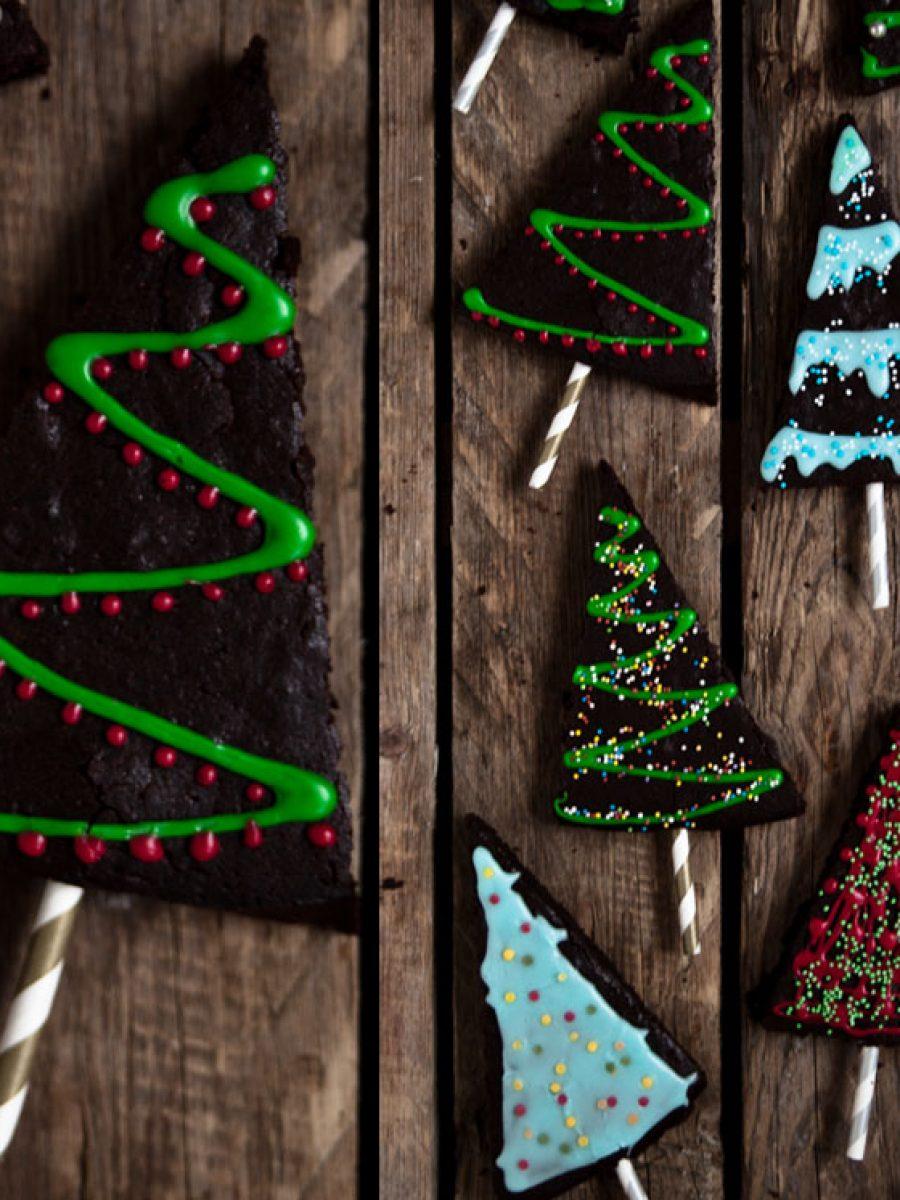 weihnachts brownies vegan rezept