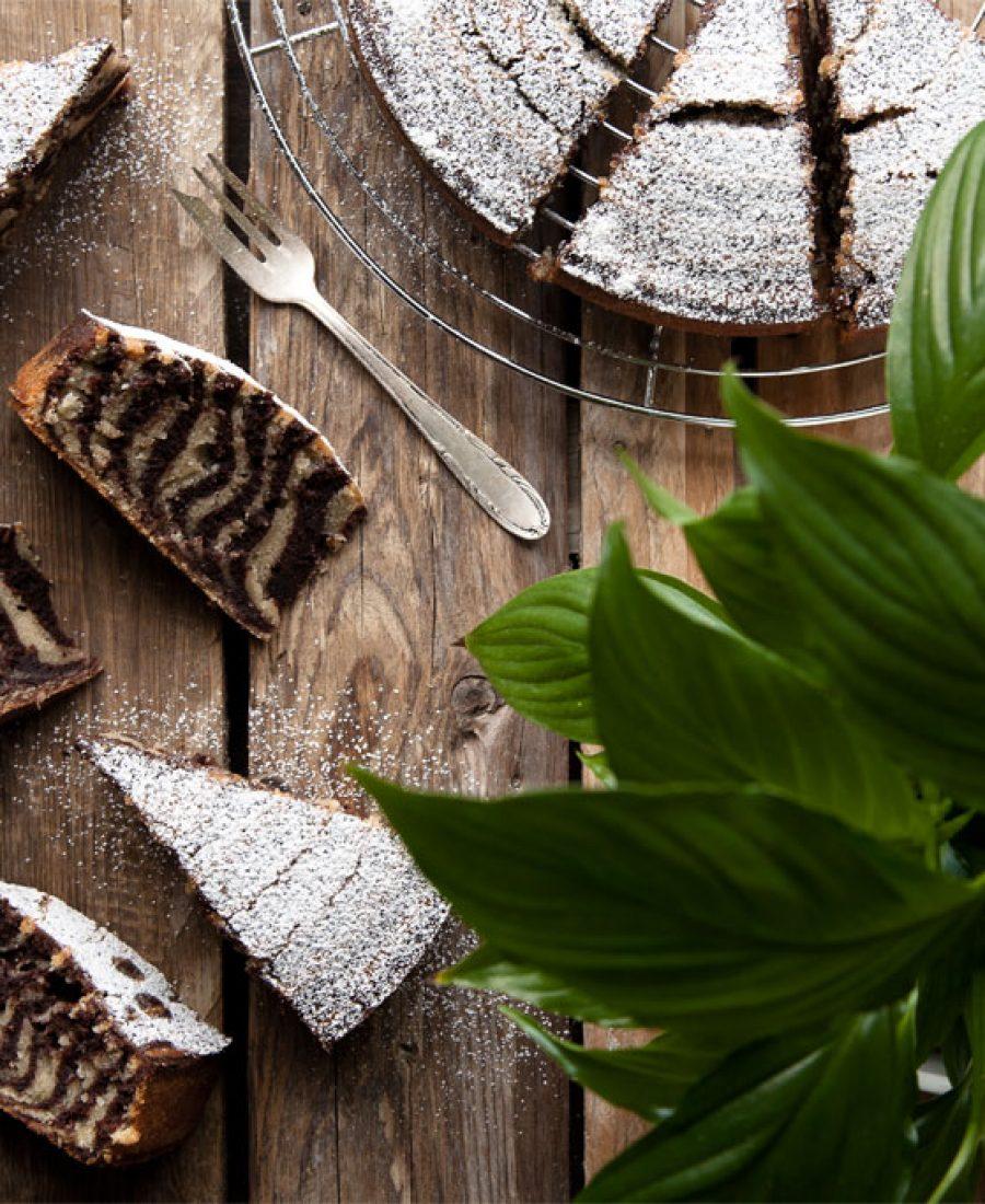 wie macht man Zebrakuchen-vegan-rezept